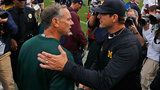 Jim Harbaugh fires back at Michigan State, Mark Dantonio in fiery tweet
