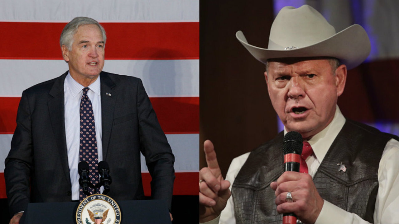 Election Results Alabama Gop Senate Primary Between Luther