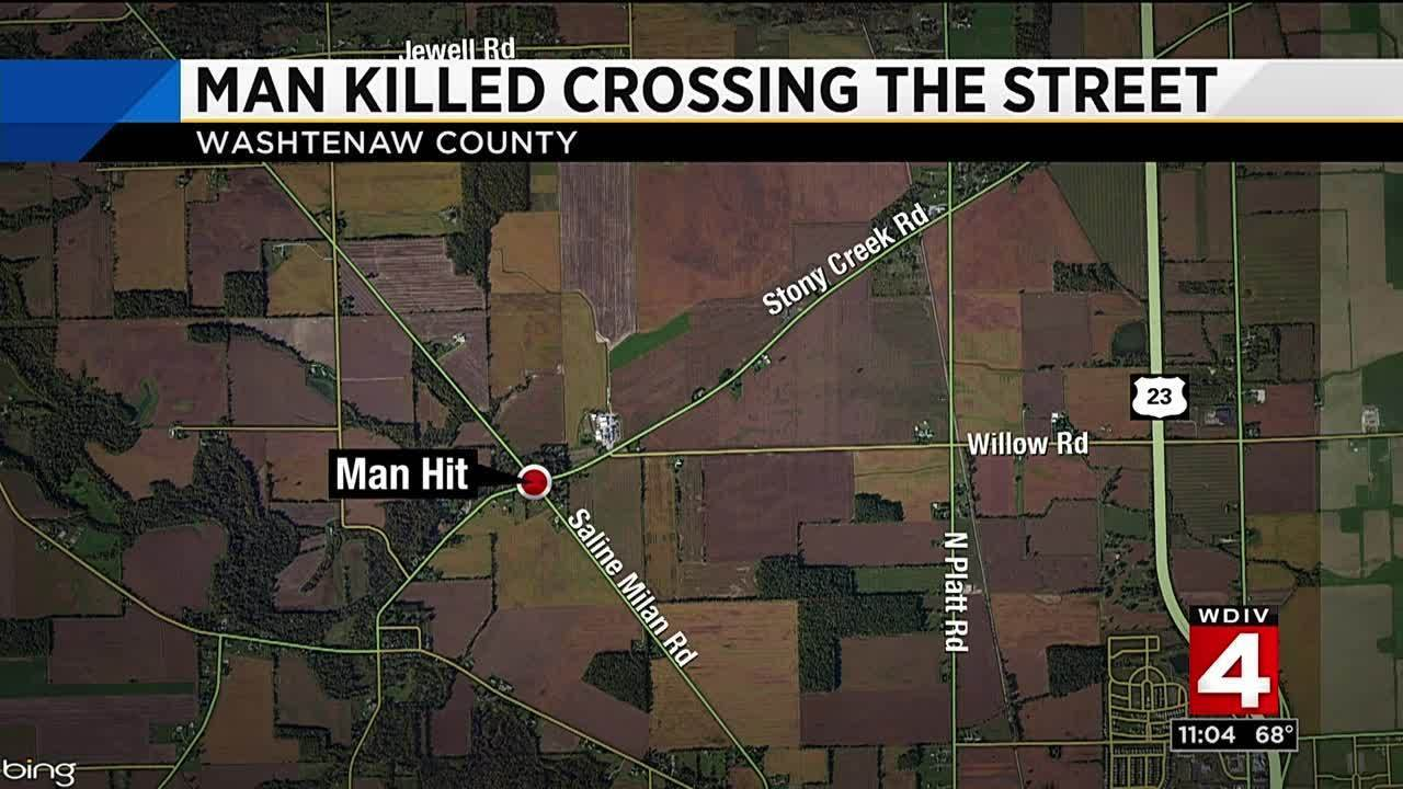 Young man killed while crossing street in Washtenaw County