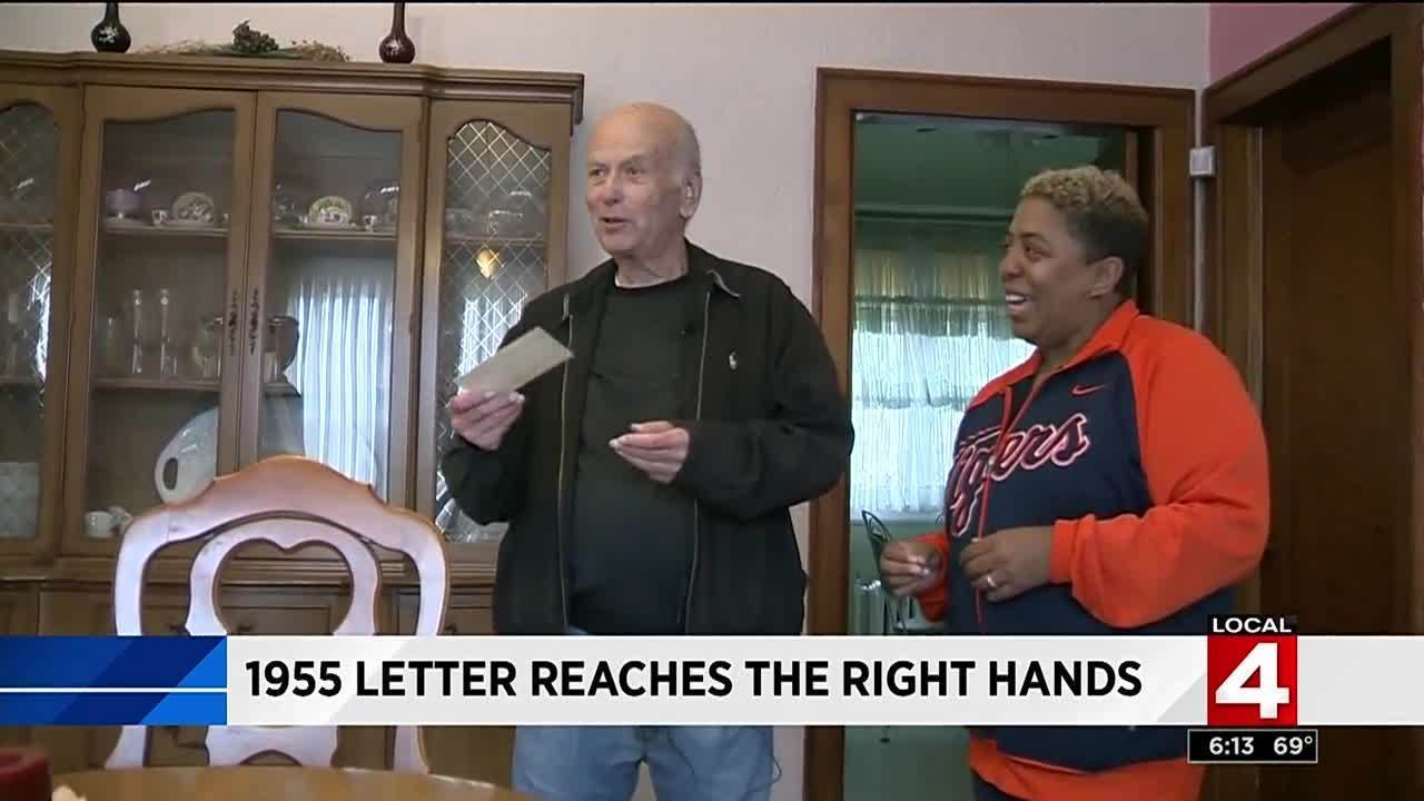 Man Returns To Childhood Home In Detroit To Pick Up Letter