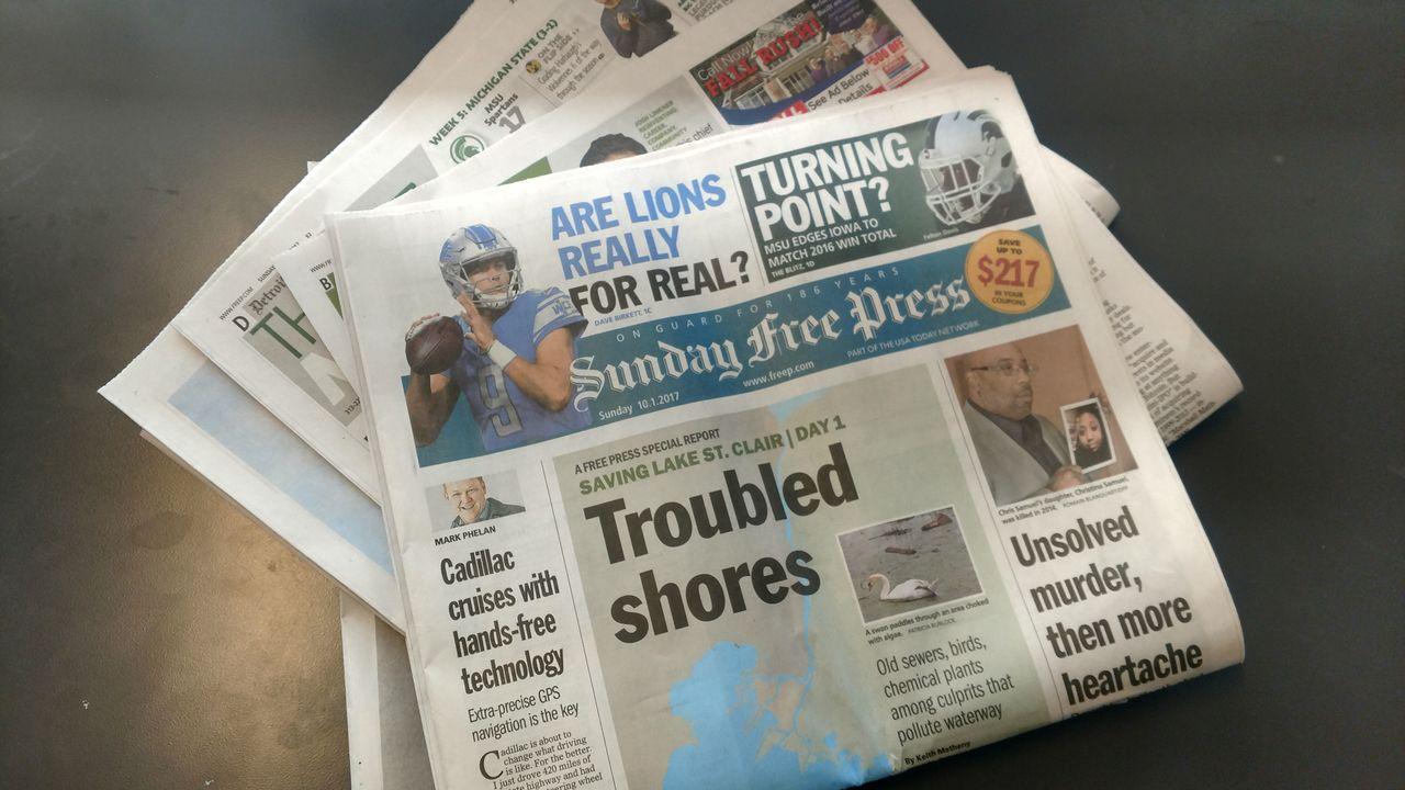 Lawsuit Claims Detroit Free Press Pays Men More Than It