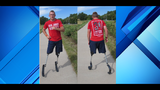 Double amputee Marine veteran running 31 marathons in the 31 days