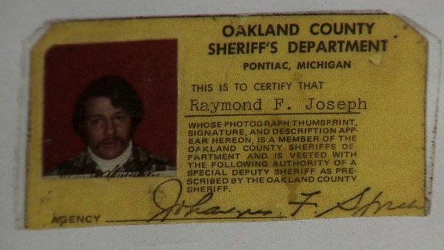 Frank Joseph sheriff's department