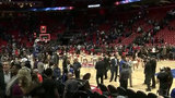 Detroit Pistons win season opener in first game at Little Caesars Arena