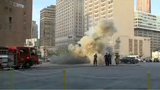 Firefighters on scene of transformer explosion in Downtown Detroit