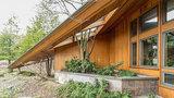 Frank Lloyd Wright-inspired Ann Arbor home for sale