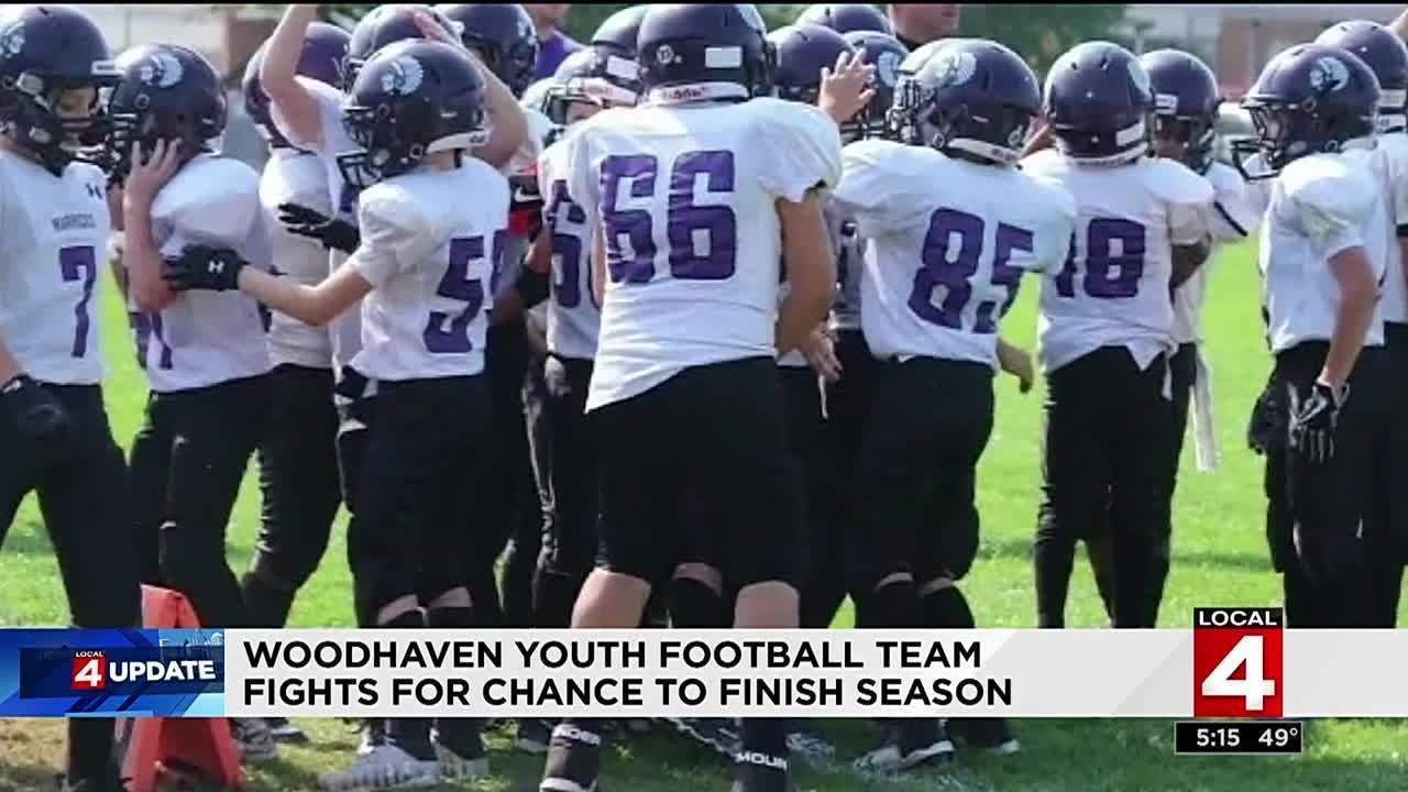 Woodhaven Youth Football Team Fights For Chance To Finish Season