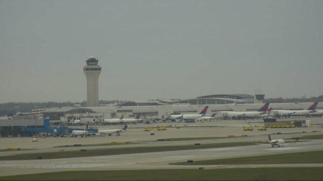 Inert grenade brings Detroit Metro Airport to temporary standstill