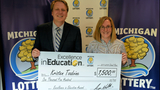 Charlotte High School teacher receives Michigan Lottery's Excellence in&hellip&#x3b;