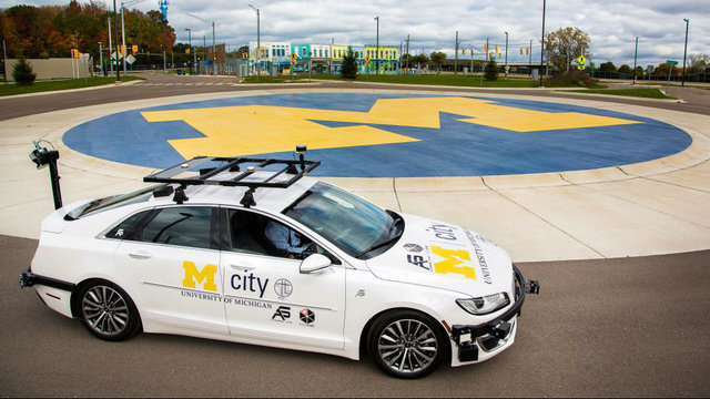 University of Michigan's Mcity gets $11 million in second round industry funding