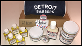 A package from Detroit Barbers that includes a $50 gift card rules