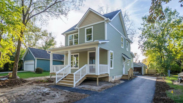 Beautiful new construction on Ann Arbor's west side for $425,000