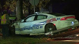 Detroit police officers hit by suspected drunk driver on Moross Road