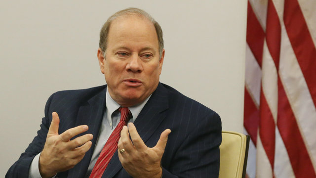 WATCH LIVE: Detroit Mayor Mike Duggan speaks at 2019 Mackinac Policy Conference
