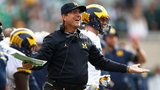 WATCH: Jim Harbaugh drives donuts on Big House field in new Michigan&hellip&#x3b;