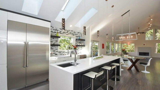 Ultra-modern home in Ann Arbor's exclusive Angell area for $1.25 million