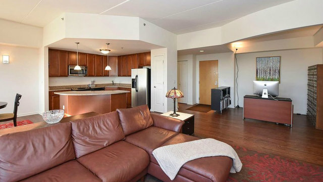 Bright, open-concept penthouse in downtown Ann Arbor for sale