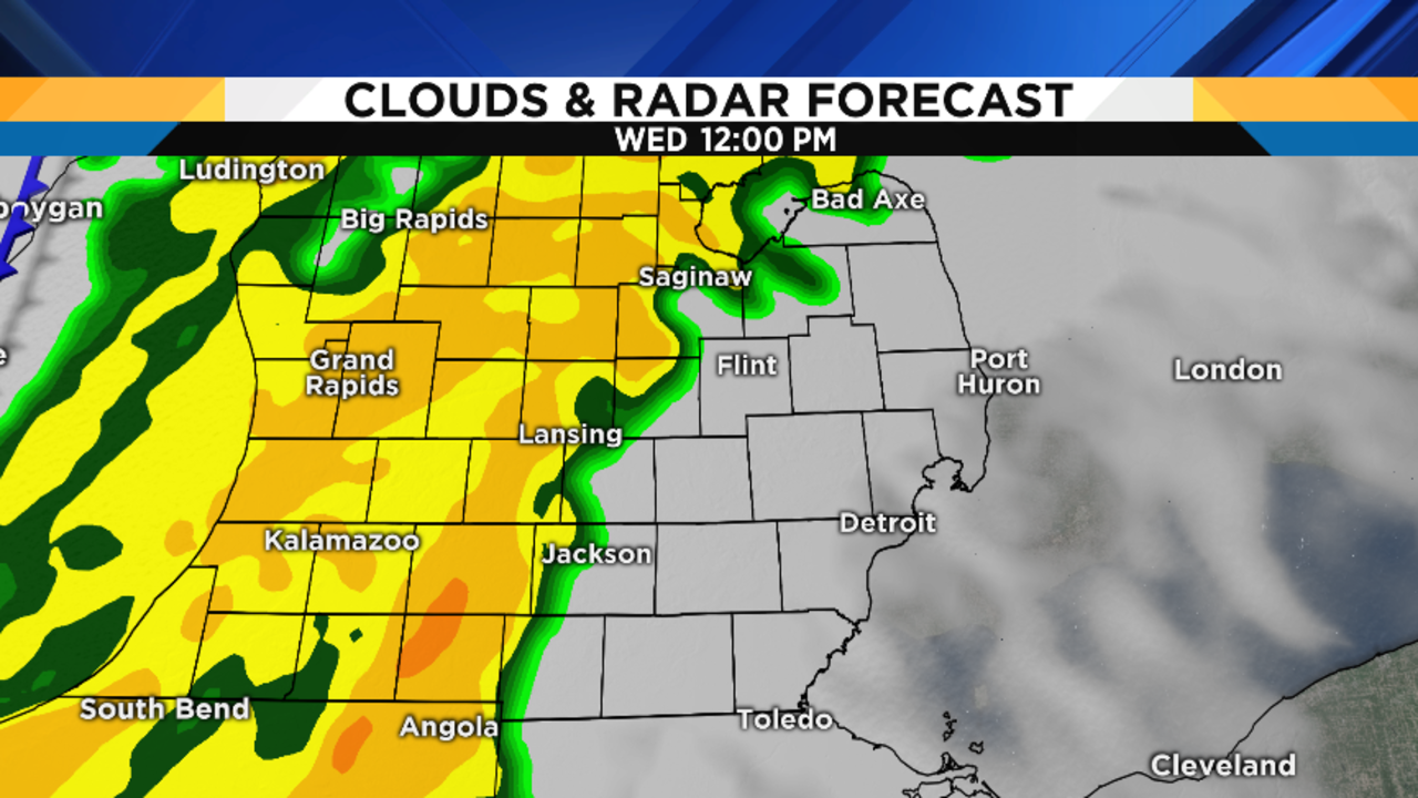 Metro Detroit Weather Get Ready For More Rain