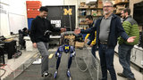 An afternoon with U-M Robotics' newest robot