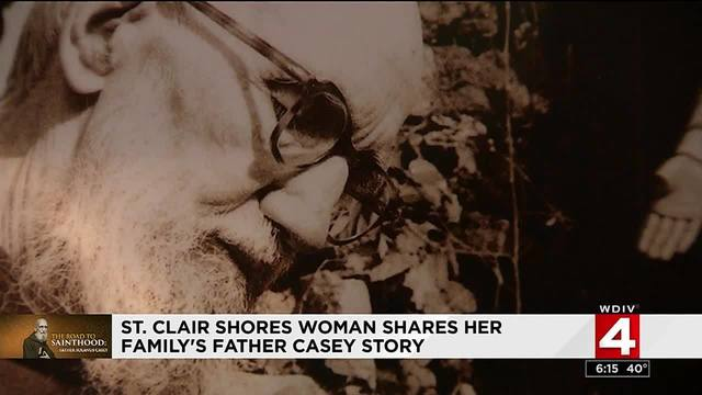 St. Clair Shores woman shares her family's Father Casey story