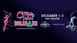 4 Tickets to Cirque Dreams Holidaze at Fox Theatre Detroit rules