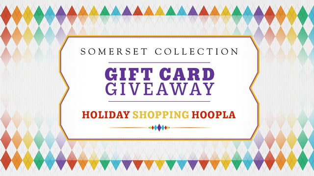 Somerset Collection Gift Card Giveaway Rules