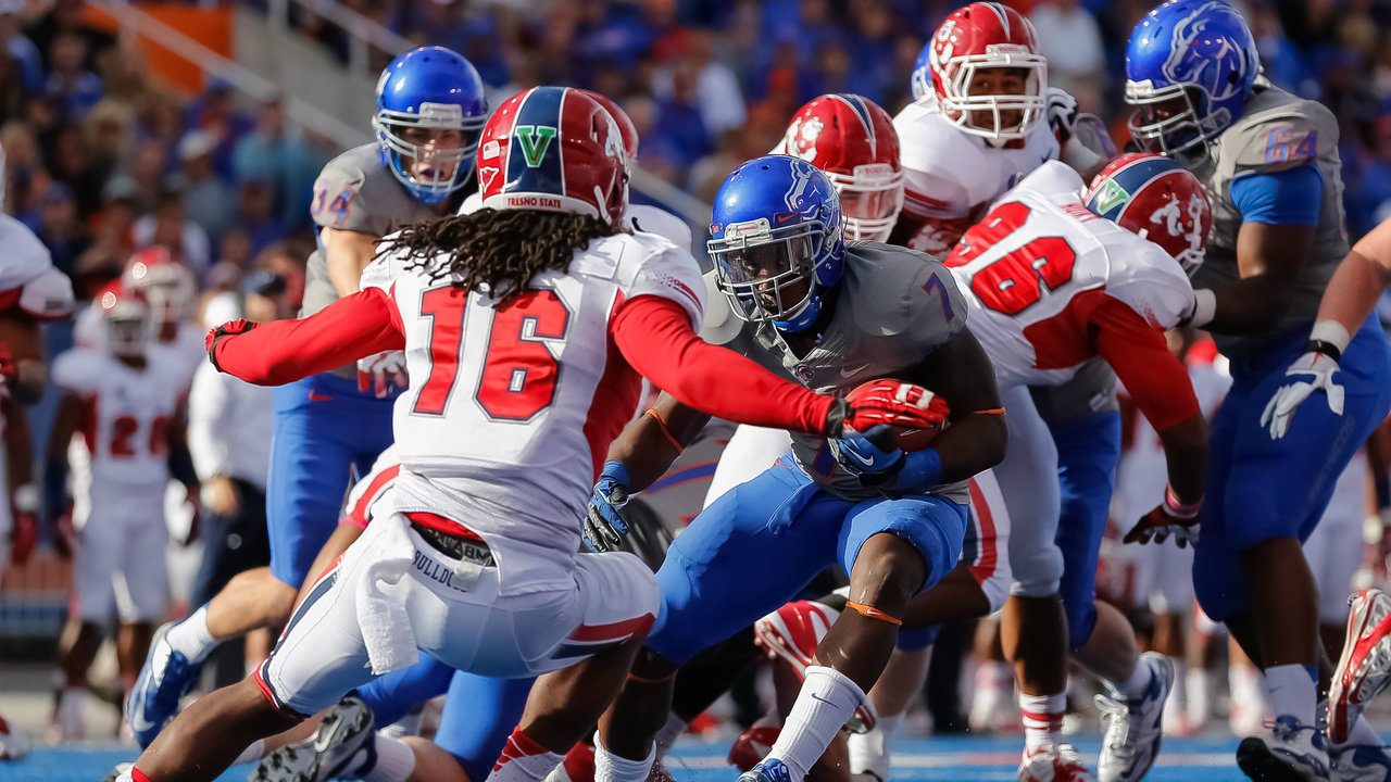 boise state football  fresno state time tv schedule game