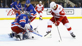 Mats Zuccarello scores in OT, Rangers edge Red Wings 2-1