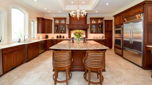 Impressive French-style home in Ann Arbor's Polo Fields for sale