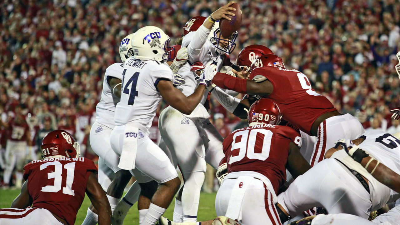Oklahoma football vs. TCU: Time, TV schedule, game preview ...