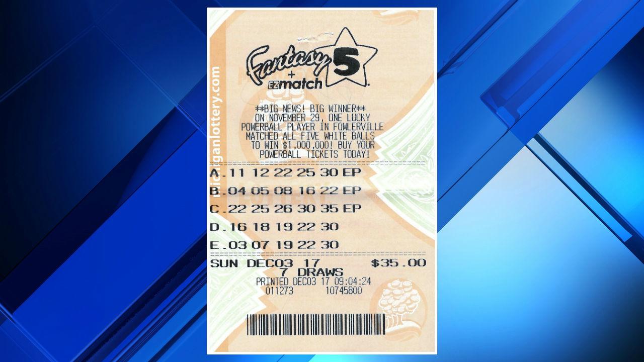Monroe County man wins $100,000 jackpot from Michigan lottery