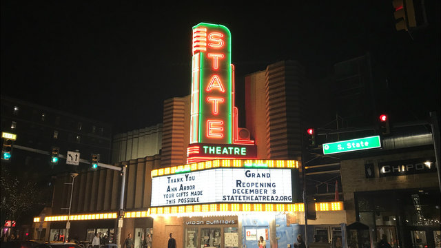 DOCtoberfest coming to downtown Ann Arbor's State Theatre