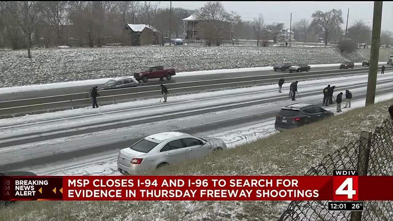 Oakland County Traffic Tickets >> WB I-94 in Detroit reopened after police search for evidence...