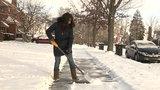What makes snow shoveling dangerous?
