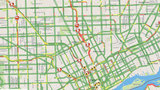 Slow, snowy commute in Metro Detroit after snowstorm -- check traffic map here