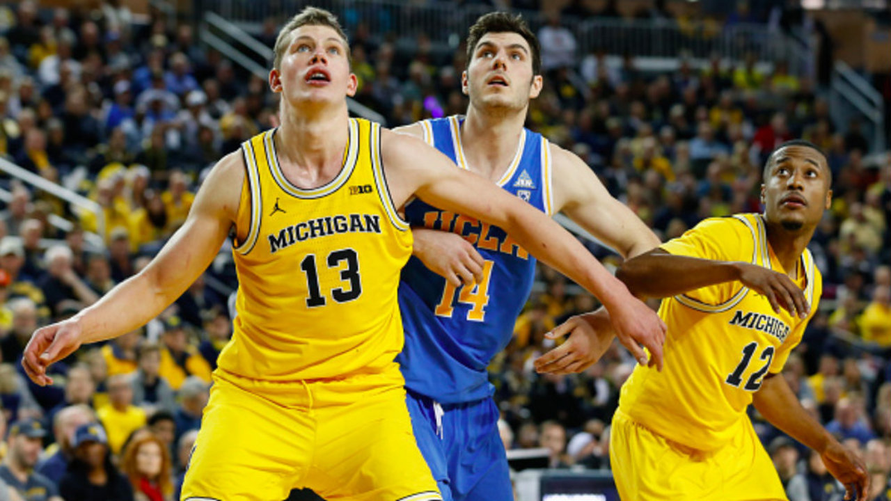 Moes moment Michigan Wolverines big man Wagner livingMichigan Basketball