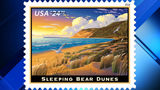 Postage stamp to honor Sleeping Bear Dunes lakeshore in 2018