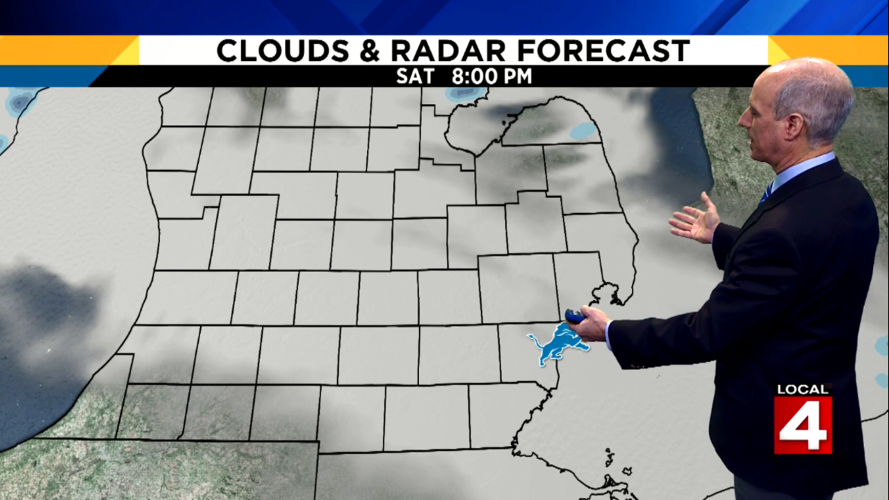 Metro Detroit weather forecast: Snow will diminish, light freezing drizzle possible