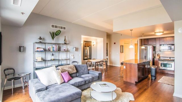 Stylish penthouse in downtown Ann Arbor for sale
