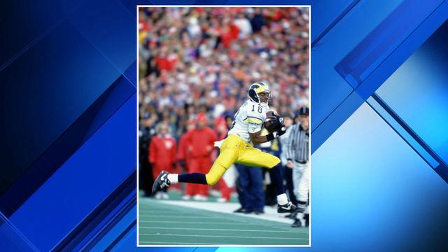 Amani Toomer Michigan football vs Wisconsin 1993