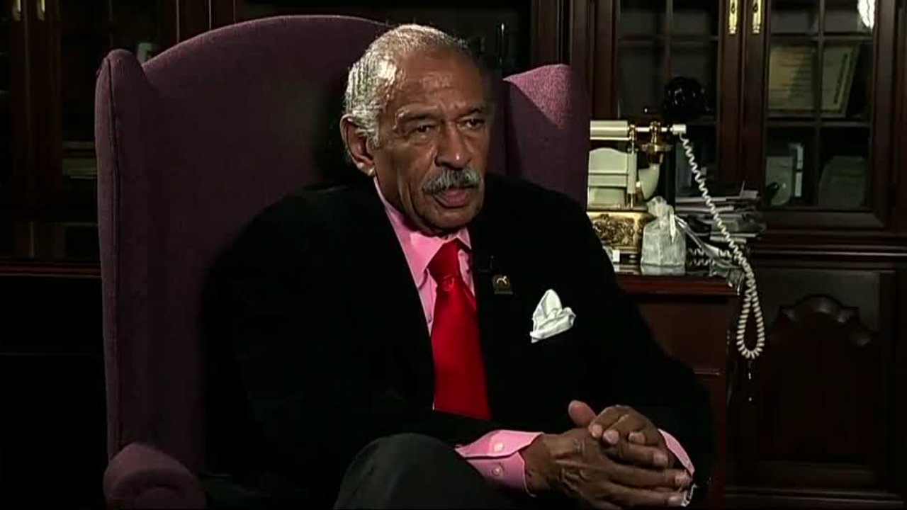 Conyers retired from Congress Dec. 5