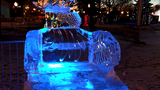 Ice sculptures fill Downtown Plymouth for annual ice festival
