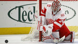 Mantha helps Red Wings beat Blackhawks 4-0