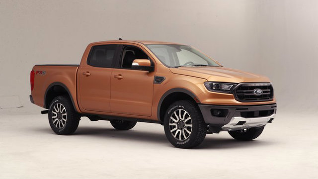 Allnew Ford Ranger To Debut At North American - Auto ford