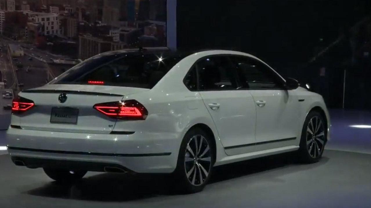 WATCH: Volkswagen unveils new Passat GT, Jetta at 2018 Detroit...