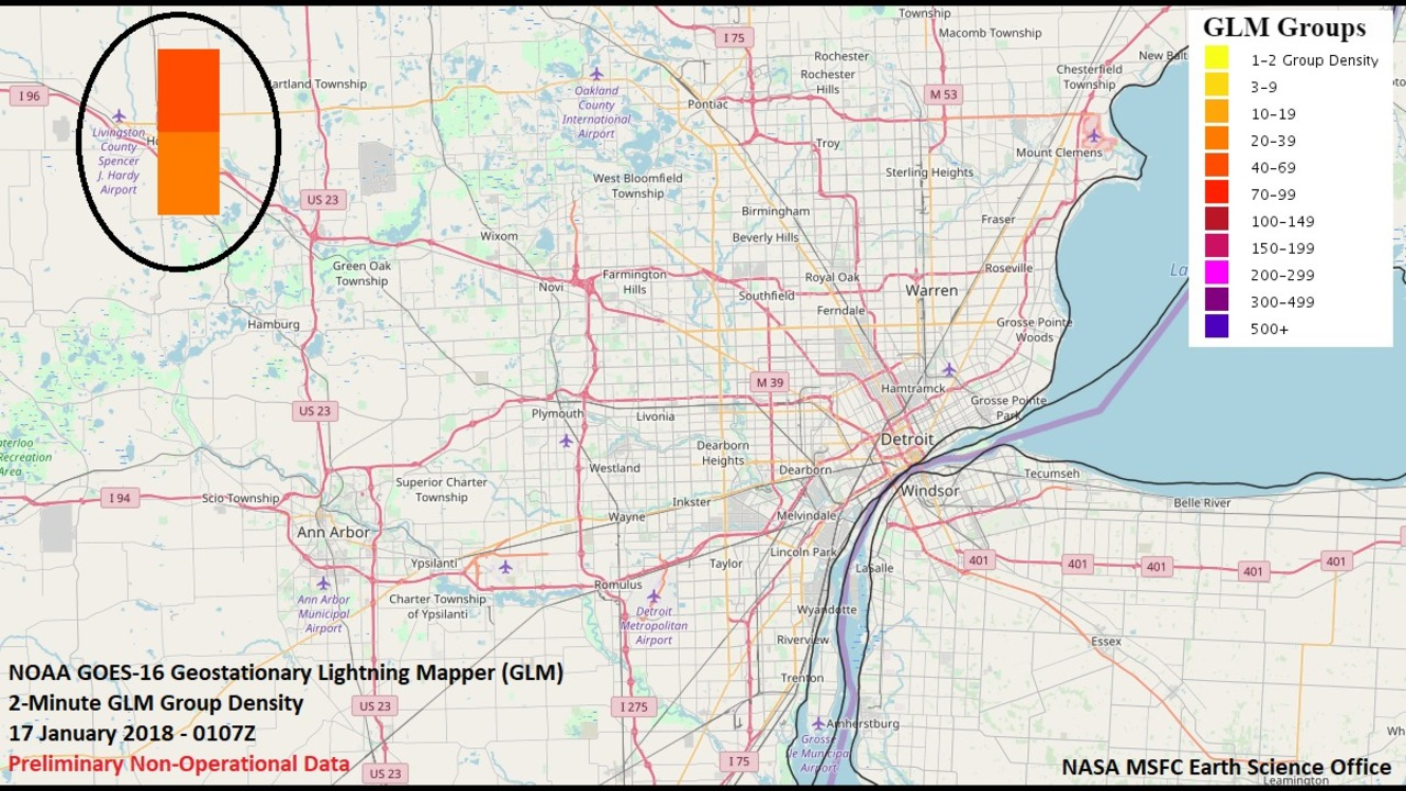 'Likely' meteor lights up sky above Detroit, according to National Weather Service