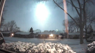 One year ago: Meteor lights up Michigan sky, shaking the earth
