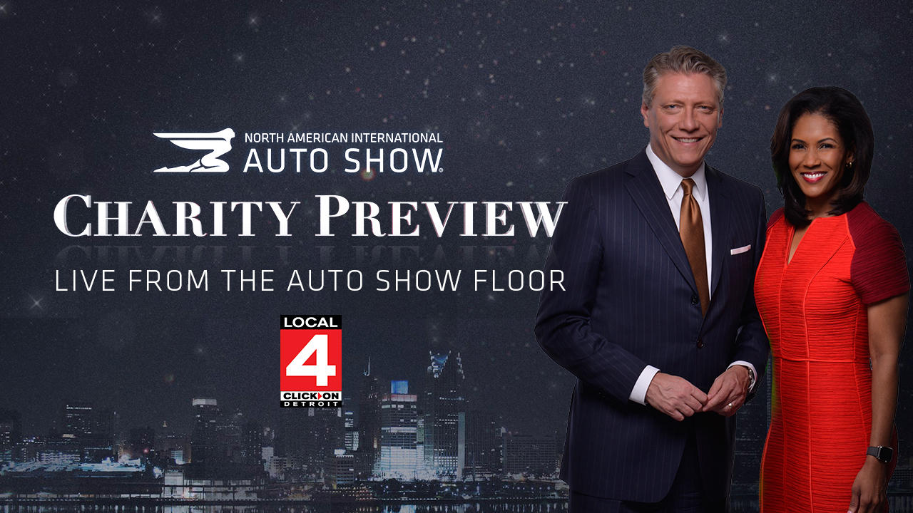 Local 4 charity preview special live from the auto show for Charity motors auction in detroit mi