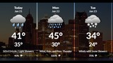 Relatively mild with rain possible Sunday
