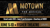 Opening Night Special: $59 tickets to 'Motown the Musical' in Detroit on June 5